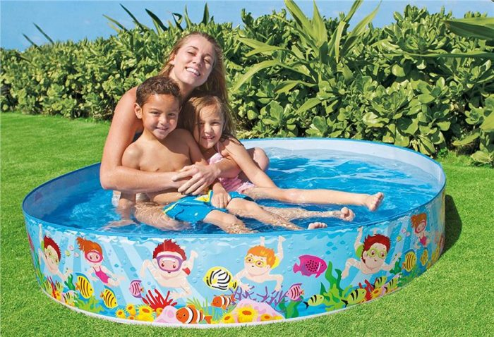 Types of pools: Kids pool