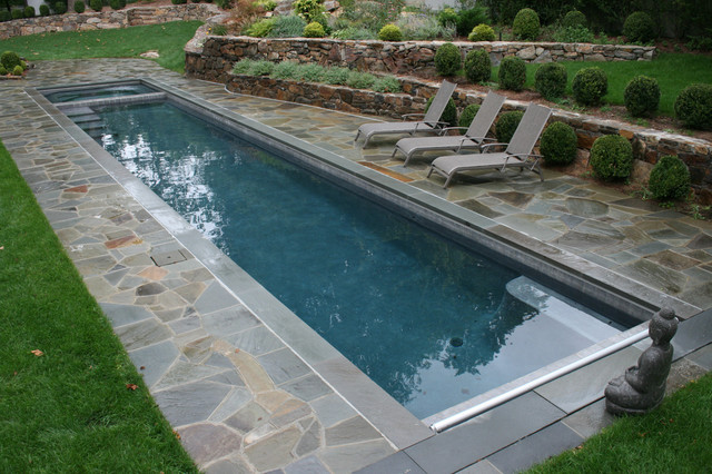 Types of pools: Lap pool